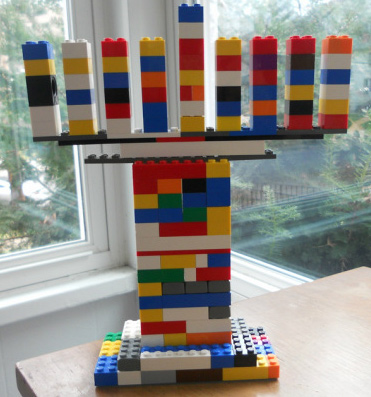 Colorful-Lego-Menorah